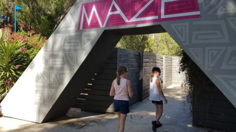 The Maze at Perth's Outbacksplash