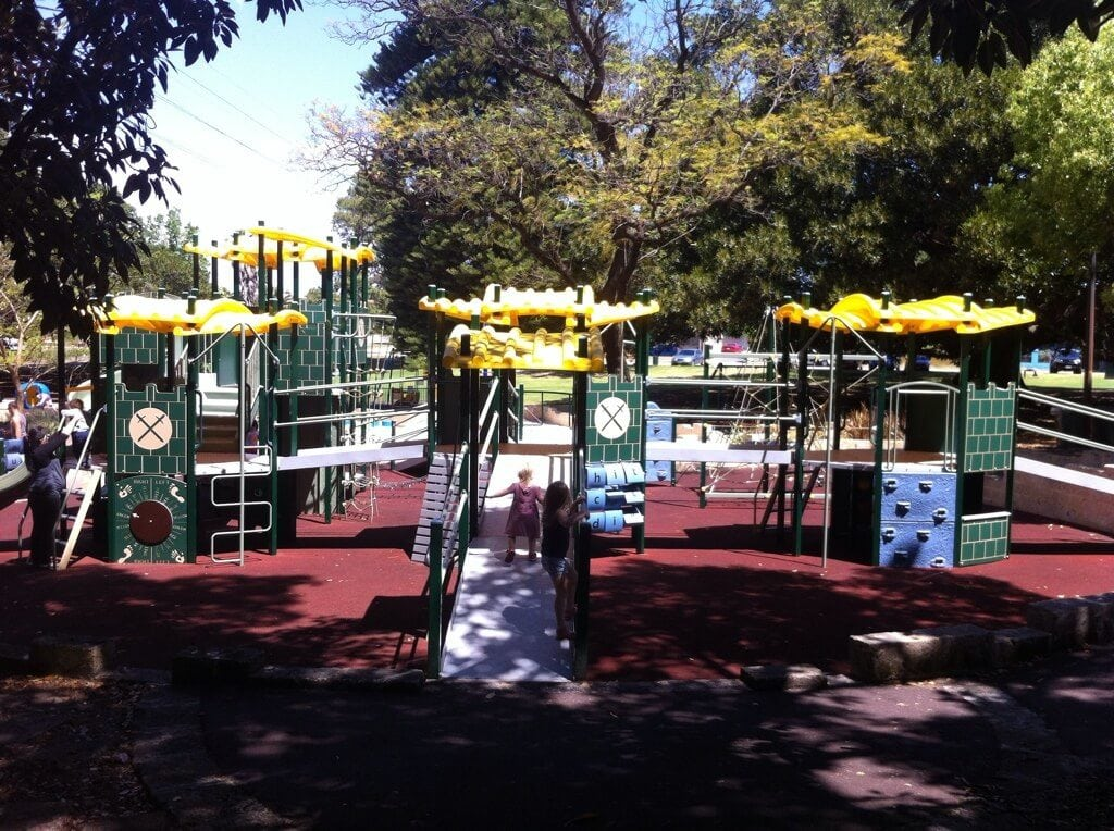 Hyde Park Playground Perth