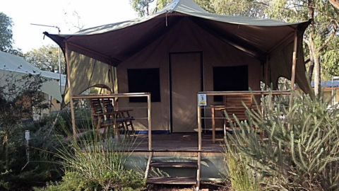 Amblin Holiday Park Safari Tents, Busselton