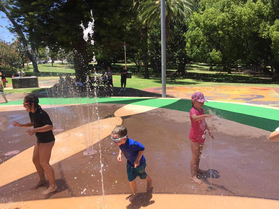 Hyde Park Water Playground