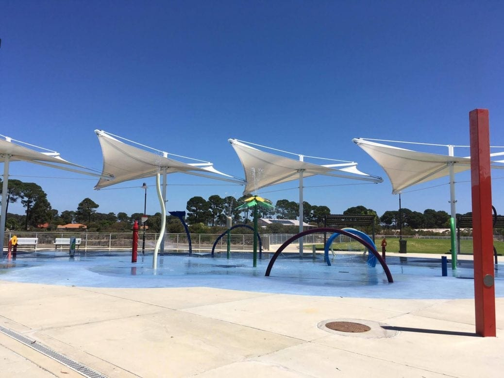 Ellenbrook Rainbow Waters Playground