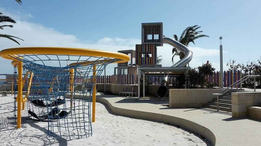 Eden beach Foreshore Playground