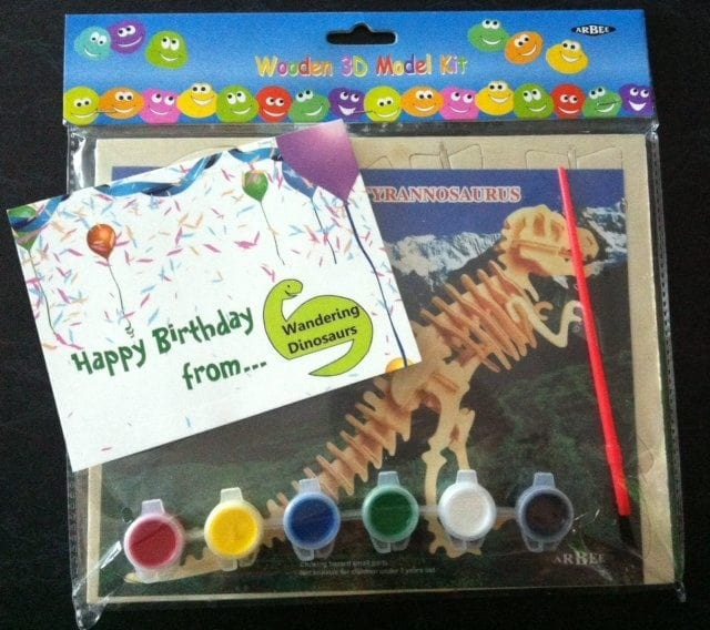 Wandering Dinosaurs Party