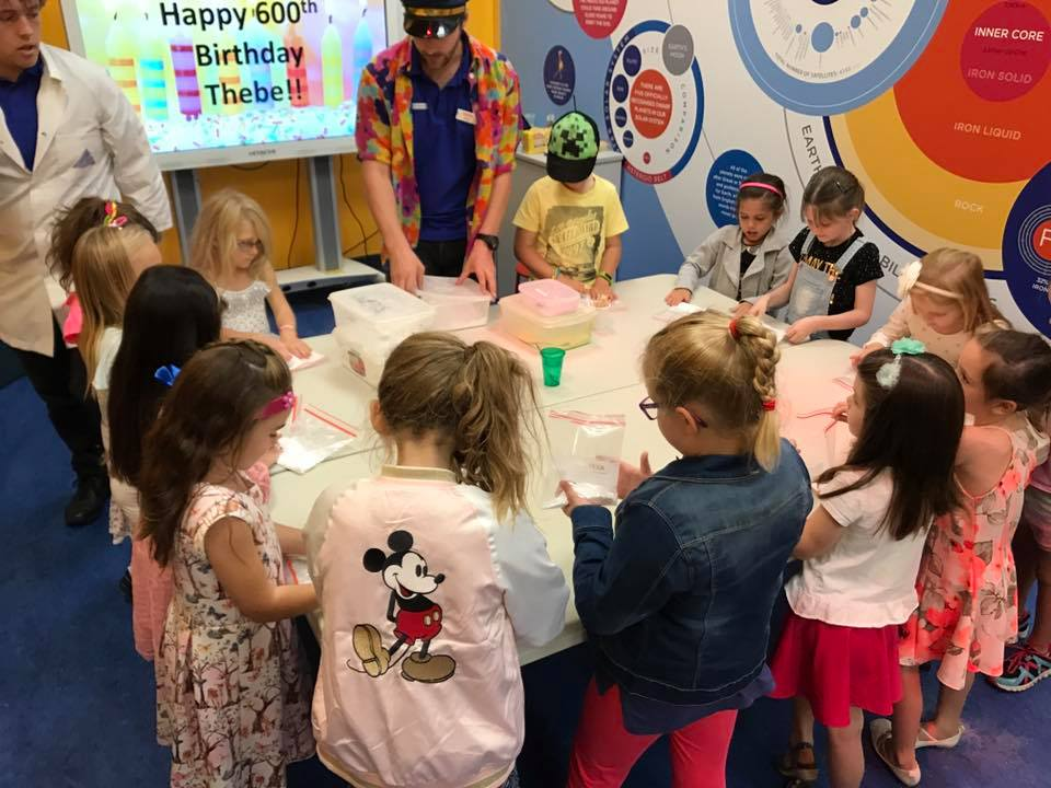 Scitech Birthday Party