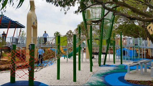 Bullrush Park XL Adventure Playground, Wellard