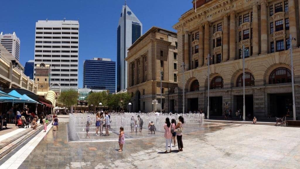 Forrest Place Perth Water Labyrinth