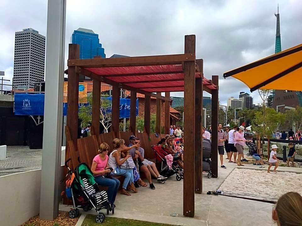 Elizabeth Quay Playground