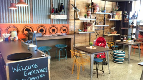 Cape to Cairo South African Shop & Coffee Shop, Woodvale