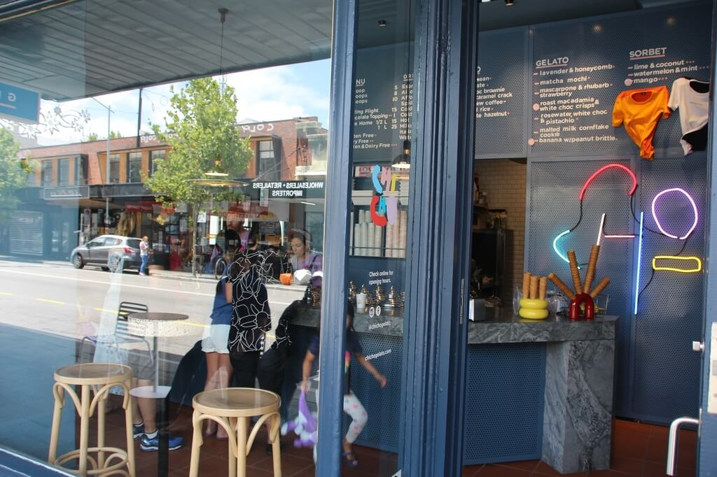 Chicho Gelato, Northbridge, Perth