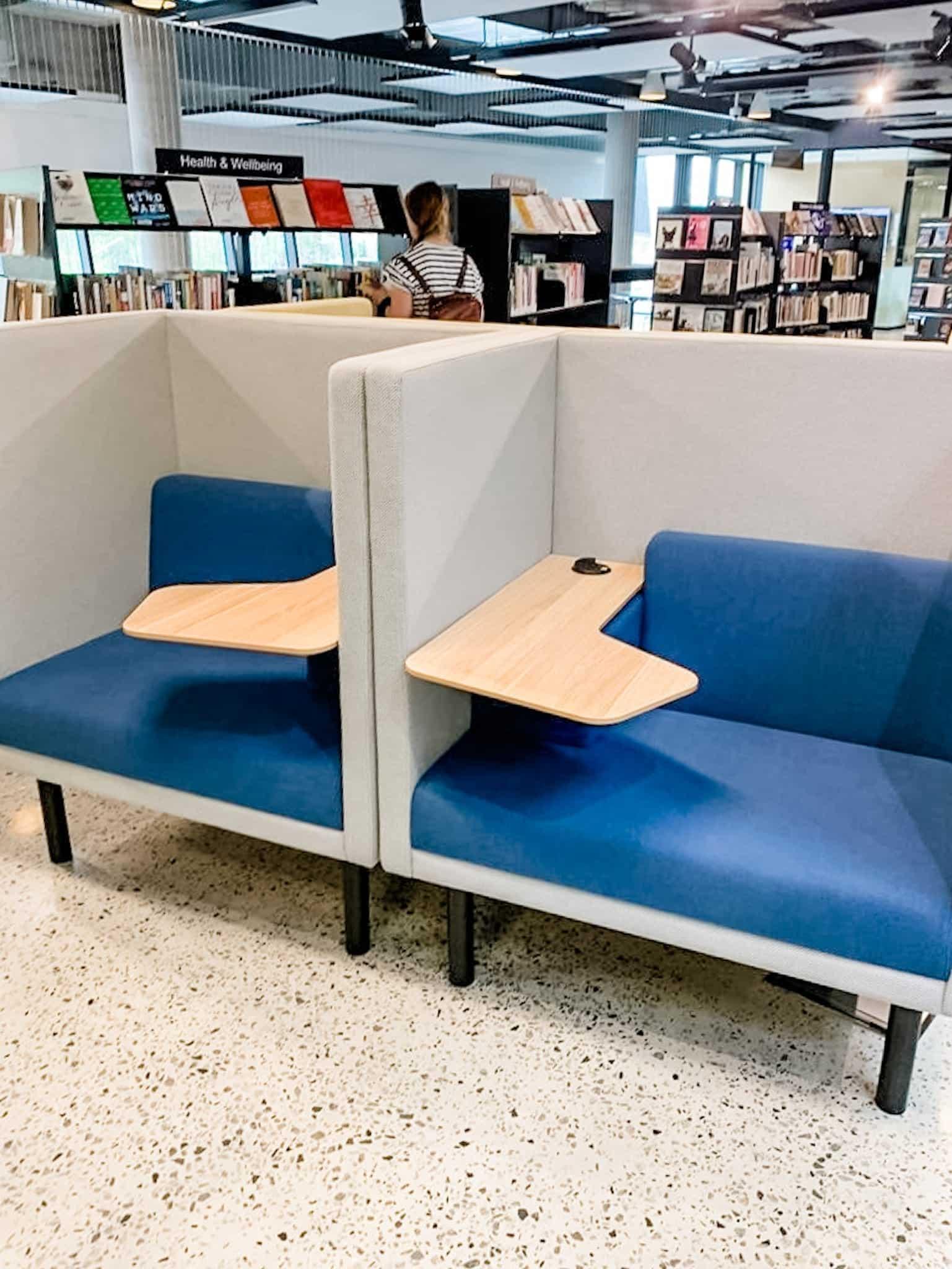 Ruth Faulkner Library @ Belmont Hub