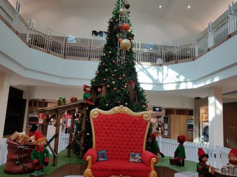 Santa at Morley Galleria