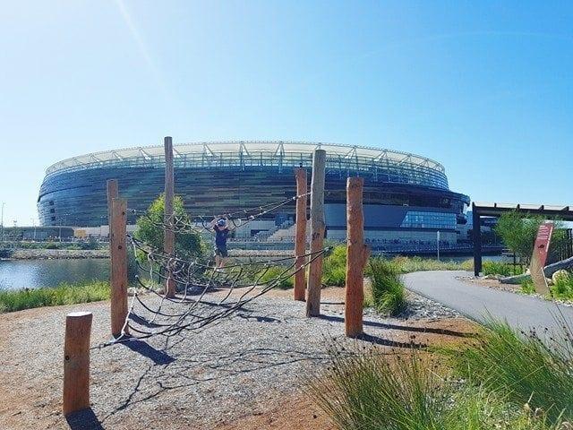 Chevron Plarkland, Optus Stadium