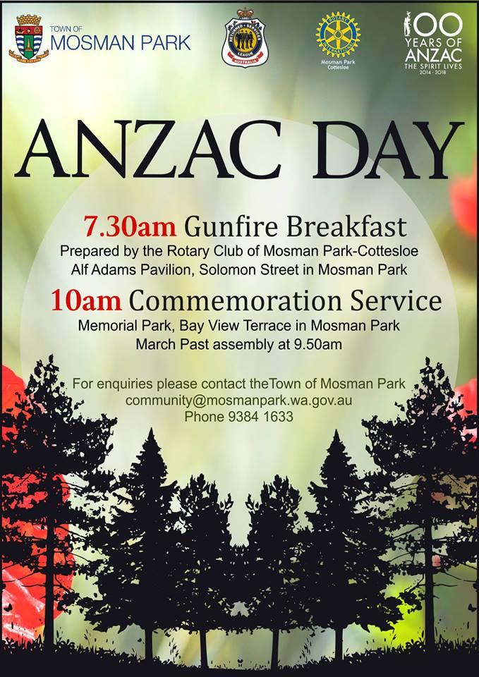 ANZAC Day Mosman Park