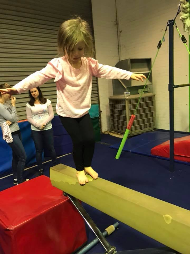Kindy Free Play at West Coast Gymnastics, Malaga