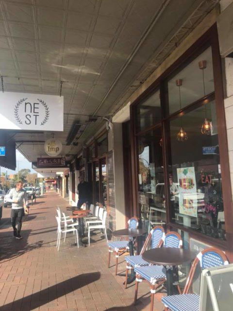 Nest Cafe, Victoria Park – CLOSED