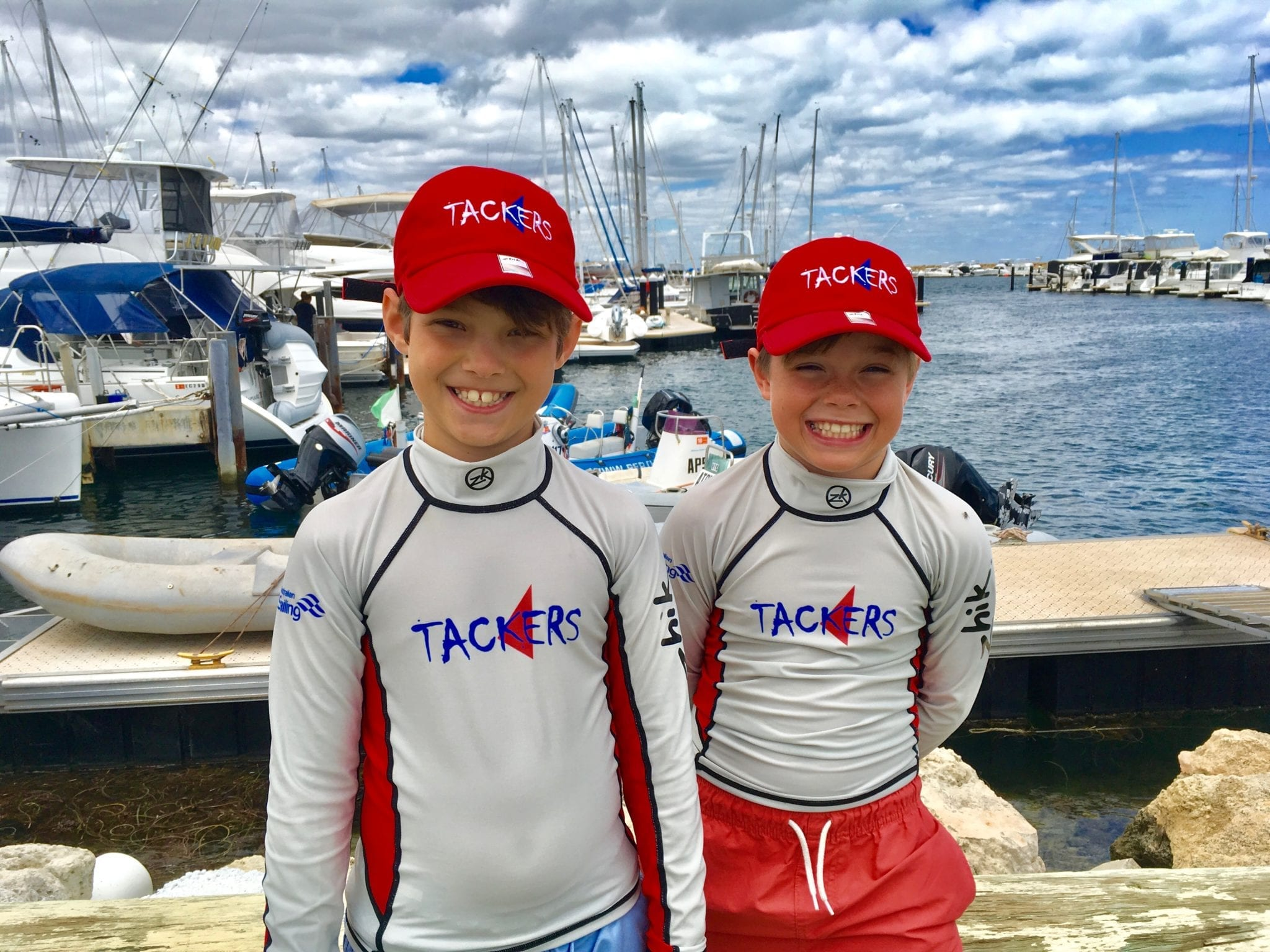 Kids Sailing Perth - Tiny Tackers at Hillarys Yacht Club