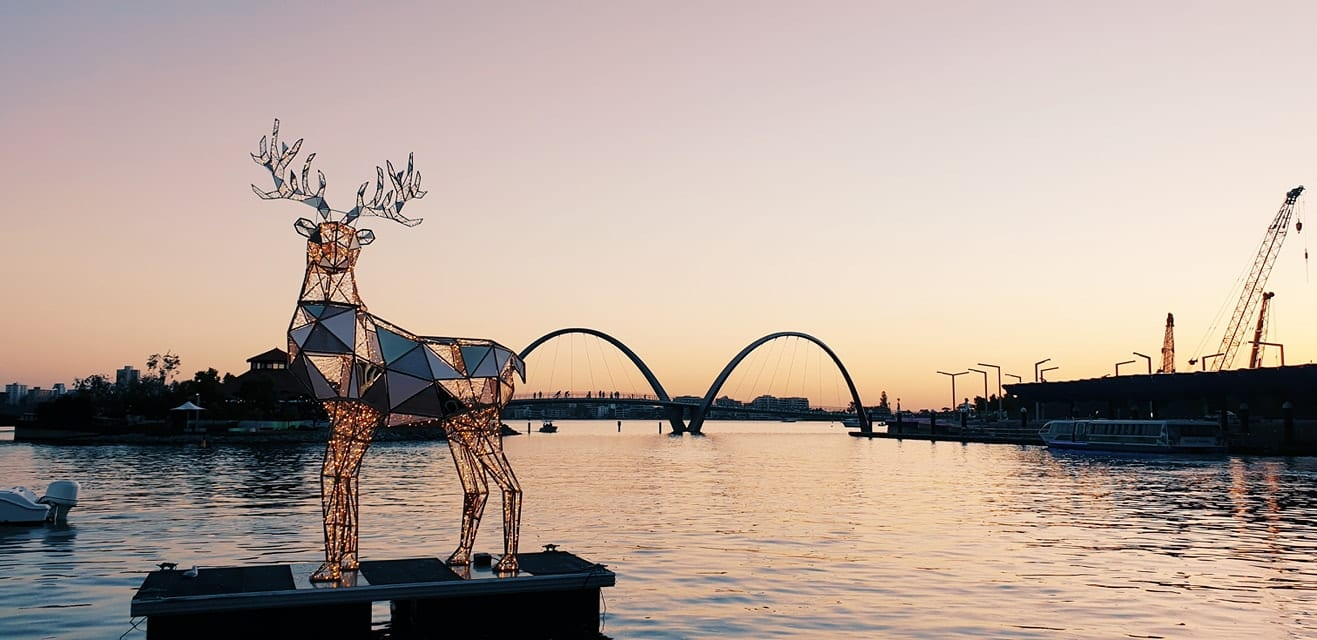 The City of Perth Christmas Lights Trail