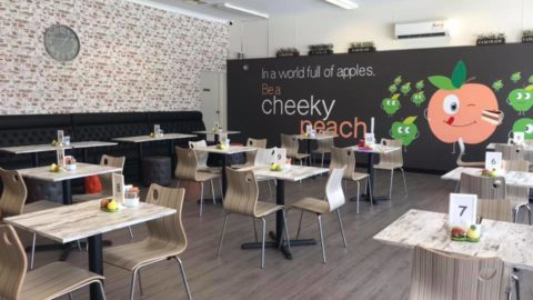 The Cheeky Peach Patisserie Cafe, Tuart Hill