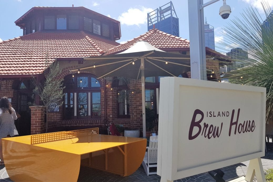 The Island, Elizabeth Quay