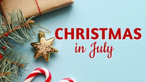 Christmas in July Events 2019
