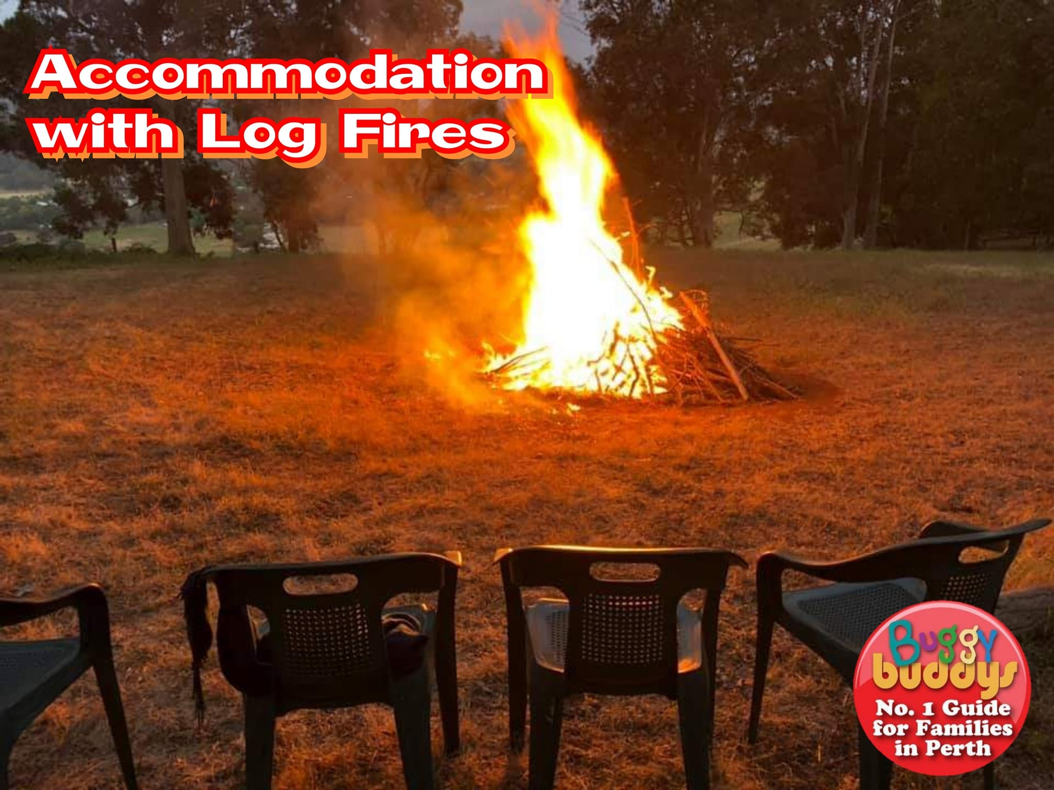 Accommodation with Log Fires