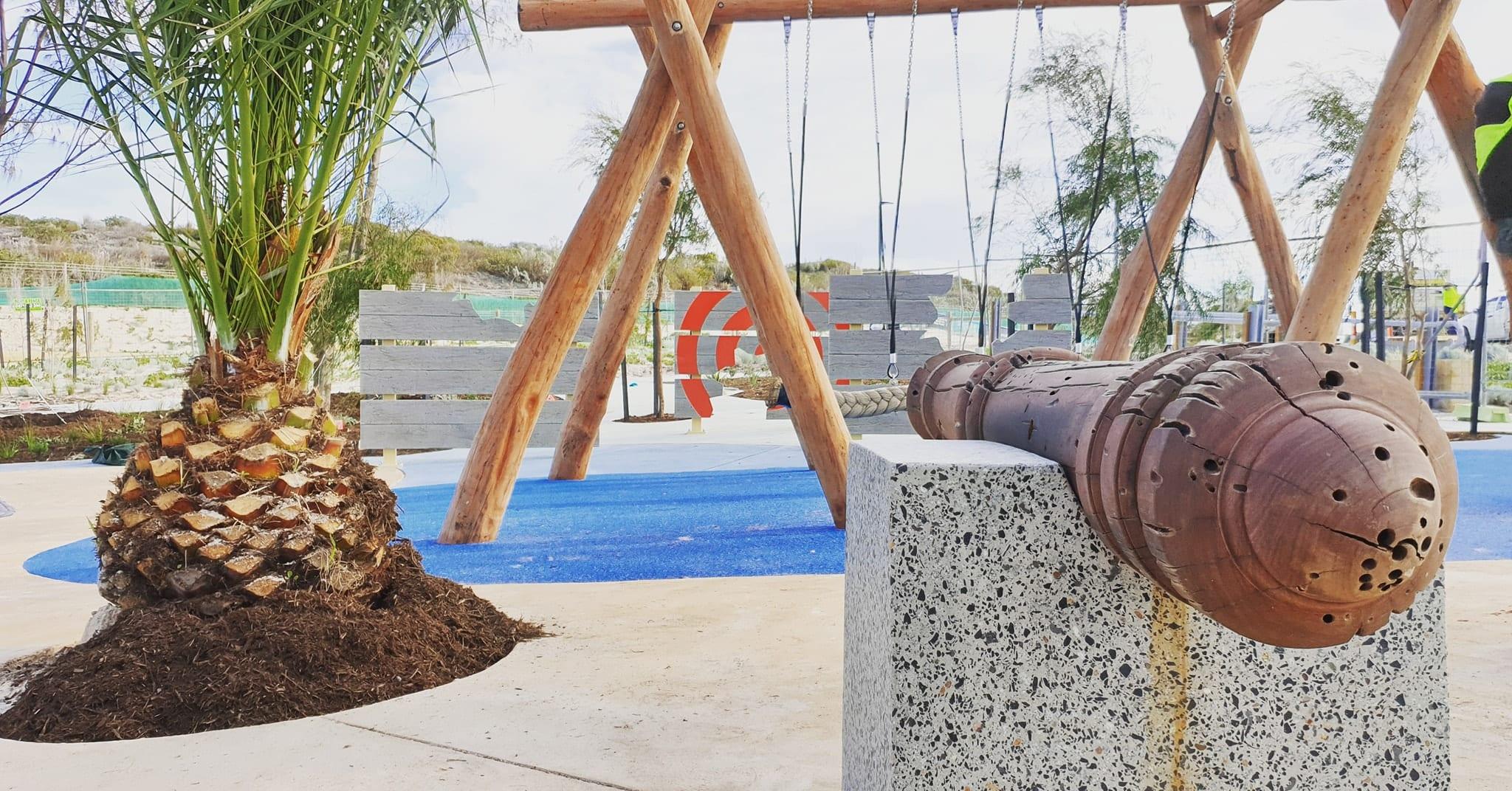 Shorehaven's Treasure Island Adventure Playground, Alkimos