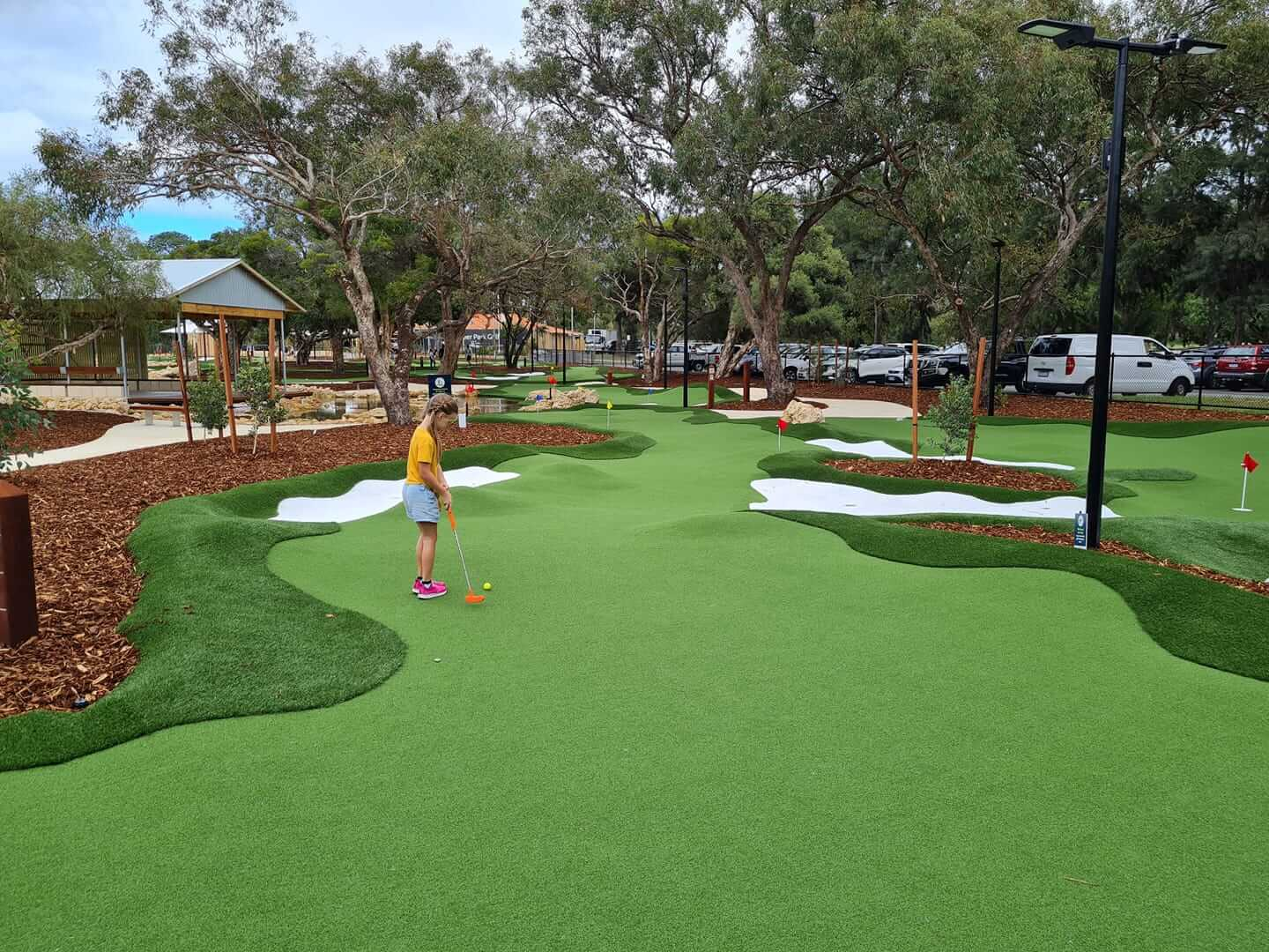 Collier Park Mini Golf