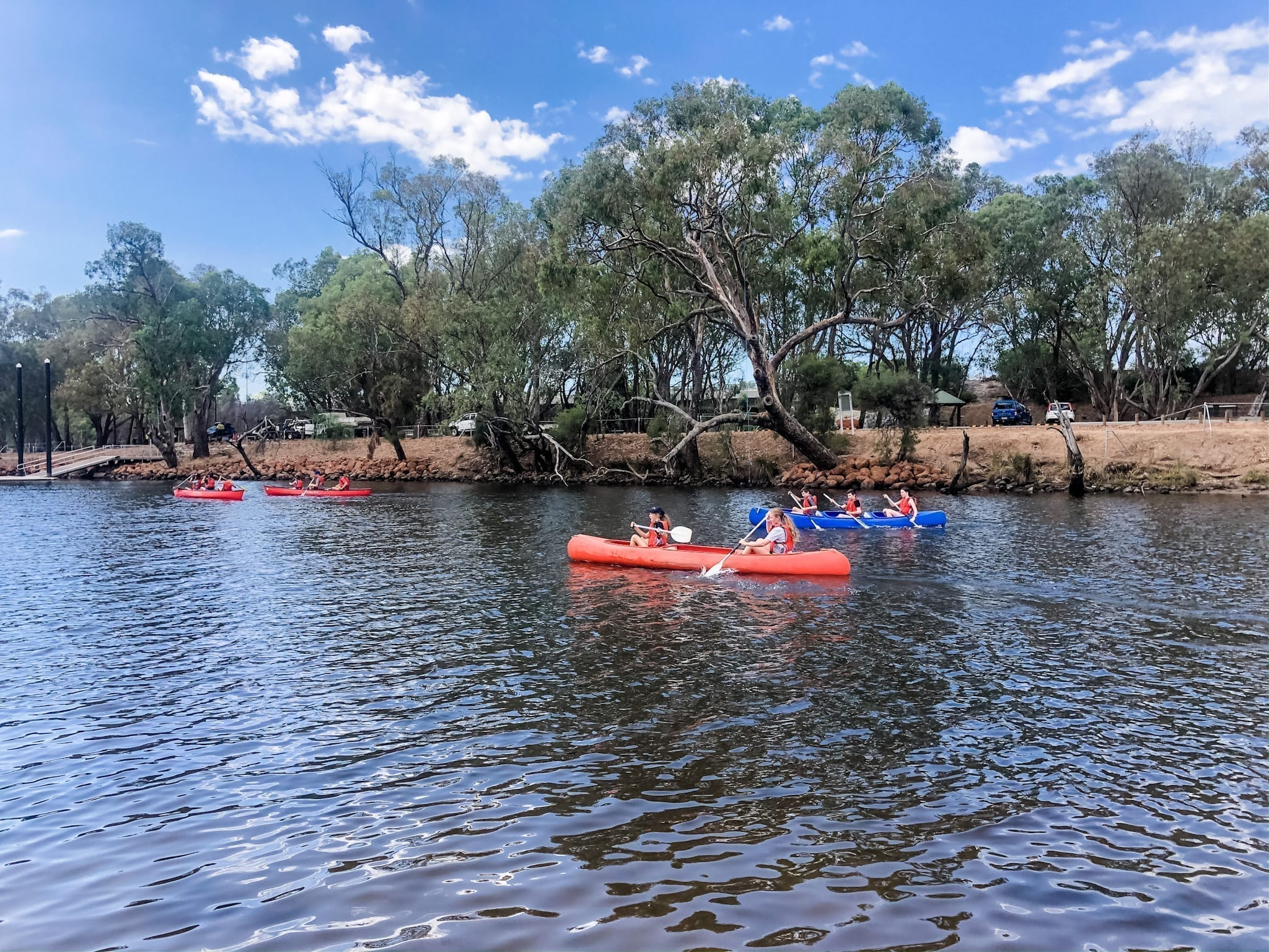 Swan Valley Adventure Centre canoeing