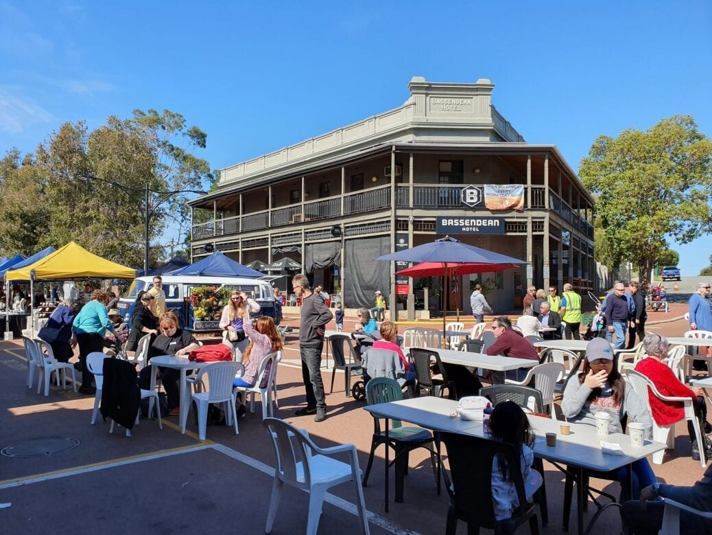 Old Perth Road Markets, Bassendean