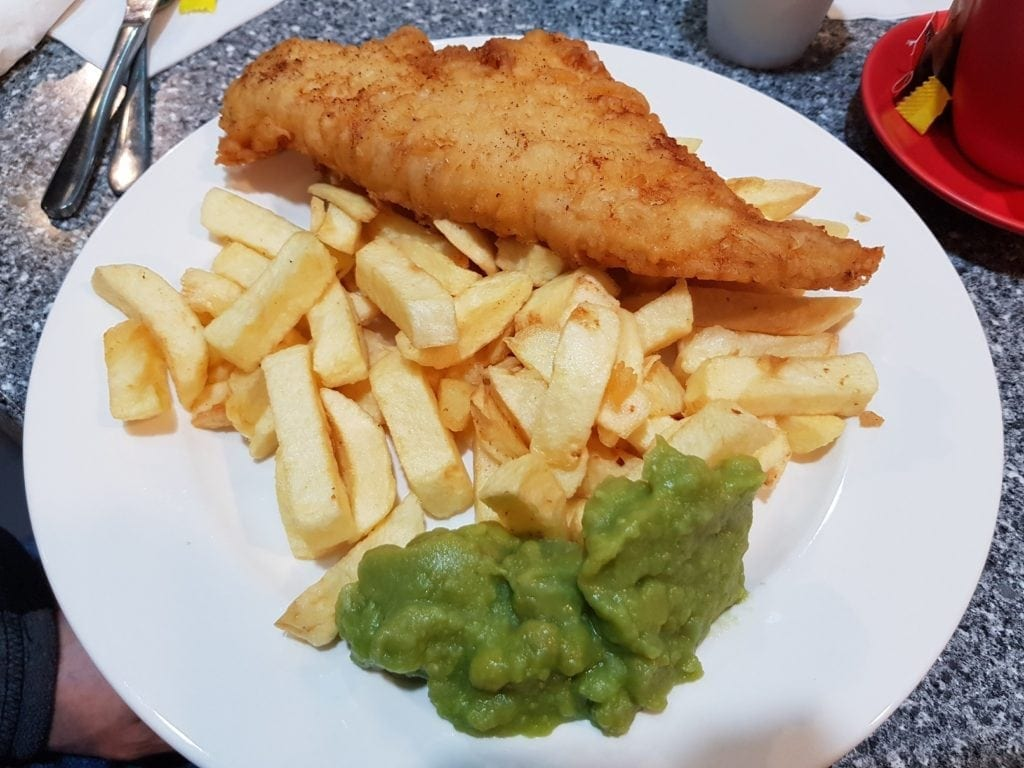 Fish and chips perth