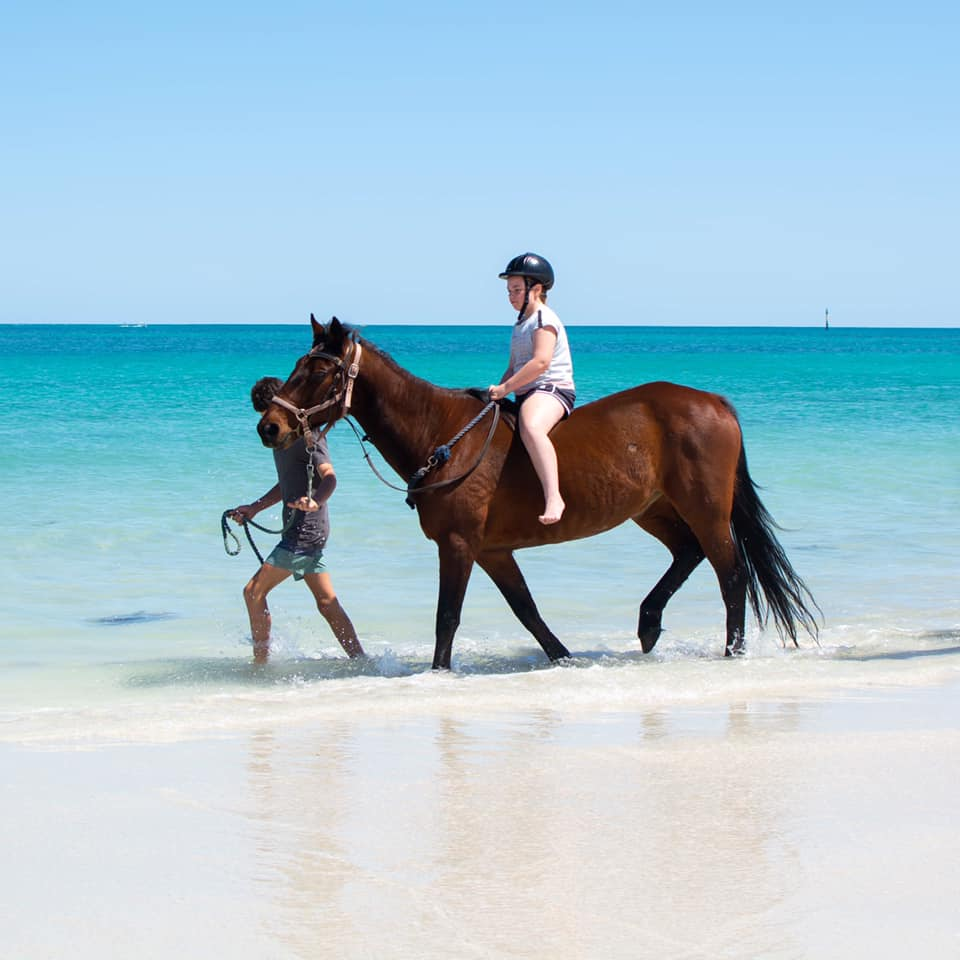 Wanneroo Riding School Beach Ride