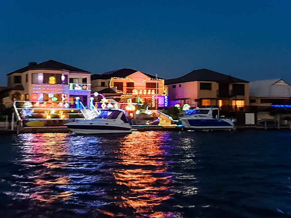 Mandurah Christmas Lights Cruise