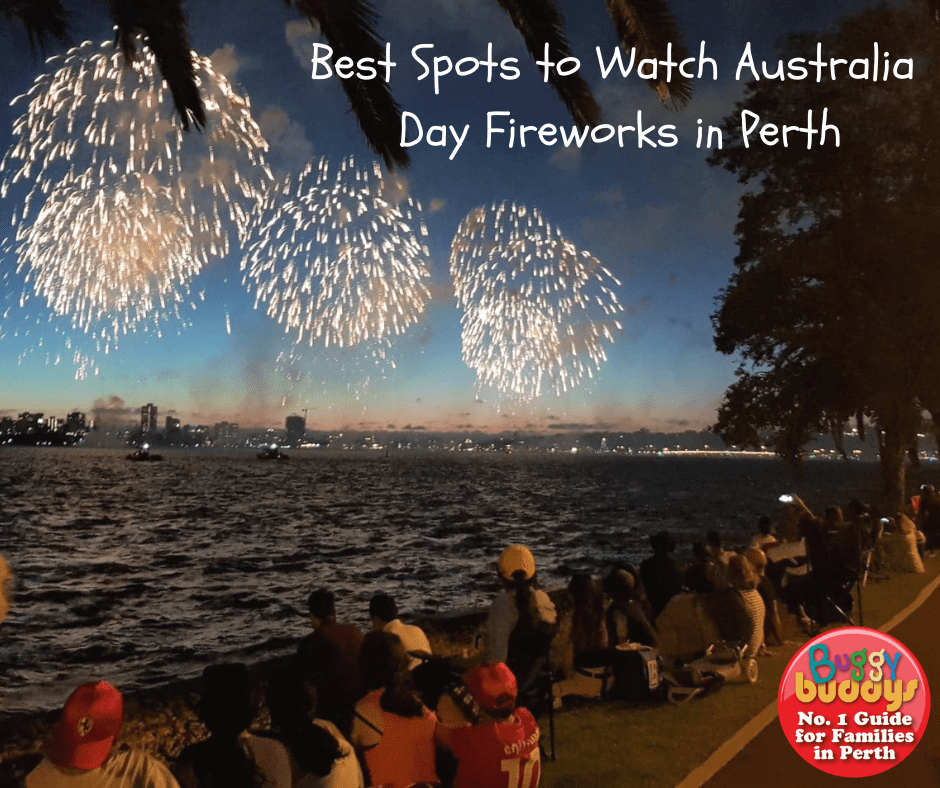 Places to Watch Australia Day Fireworks in Perth