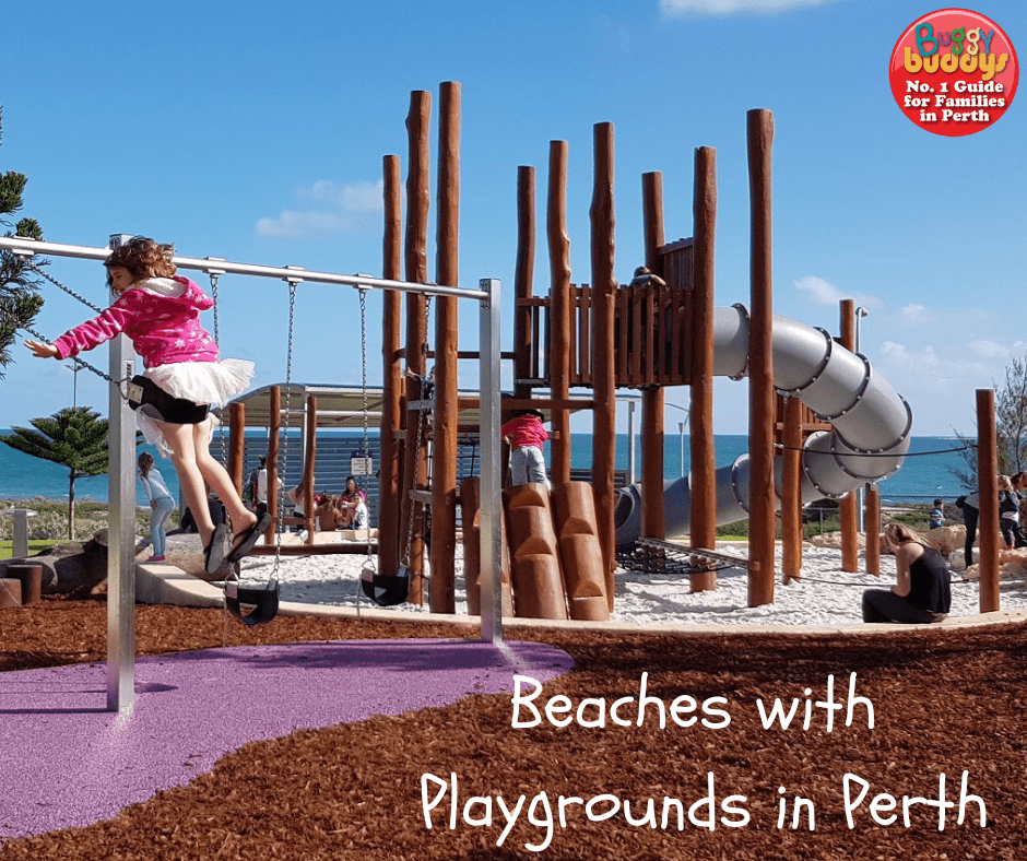 Beaches with playgrounds in perth