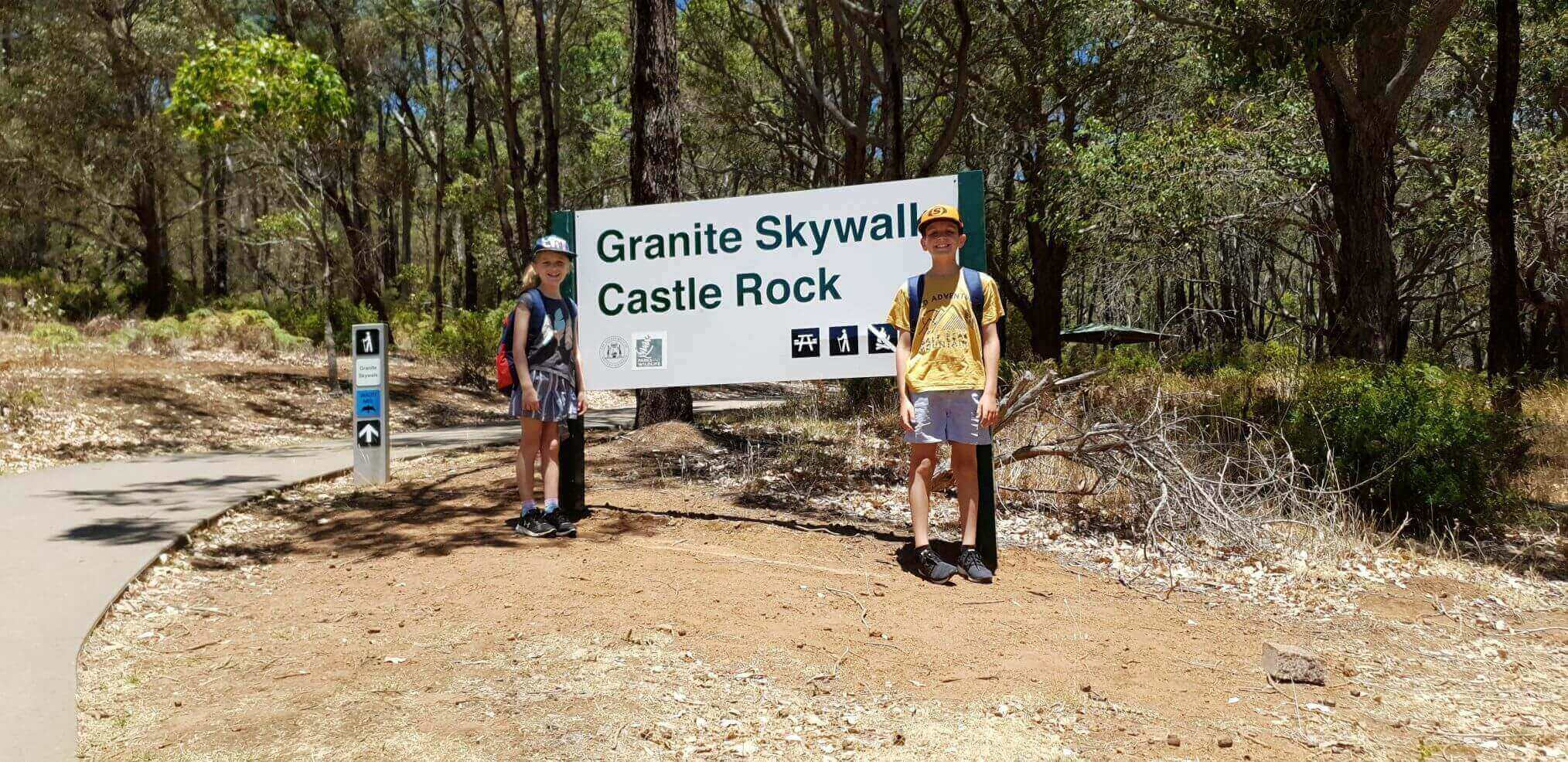 Granite Skywalk, Castle Rock