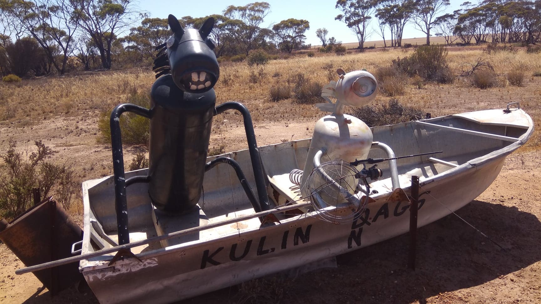 Tin Horse Highway, Kulin