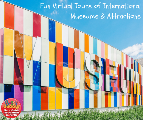Virtual Tours of Museums, Zoos and Attractions Around the World