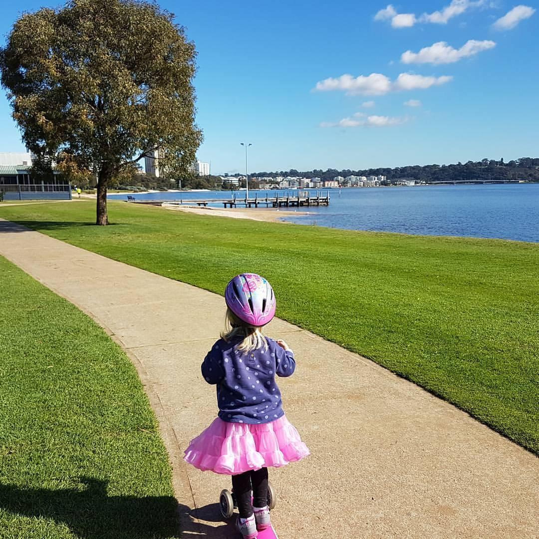 Cycling with Kids in Perth