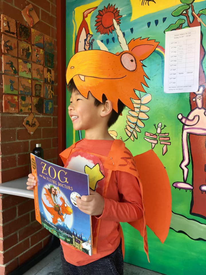 Zog Book Week Costume