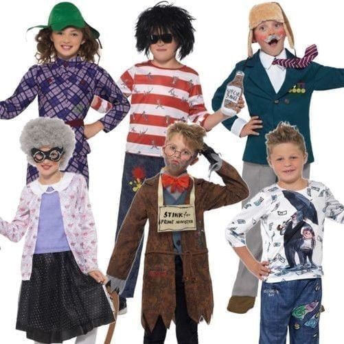 David Walliams Book Week Costumes