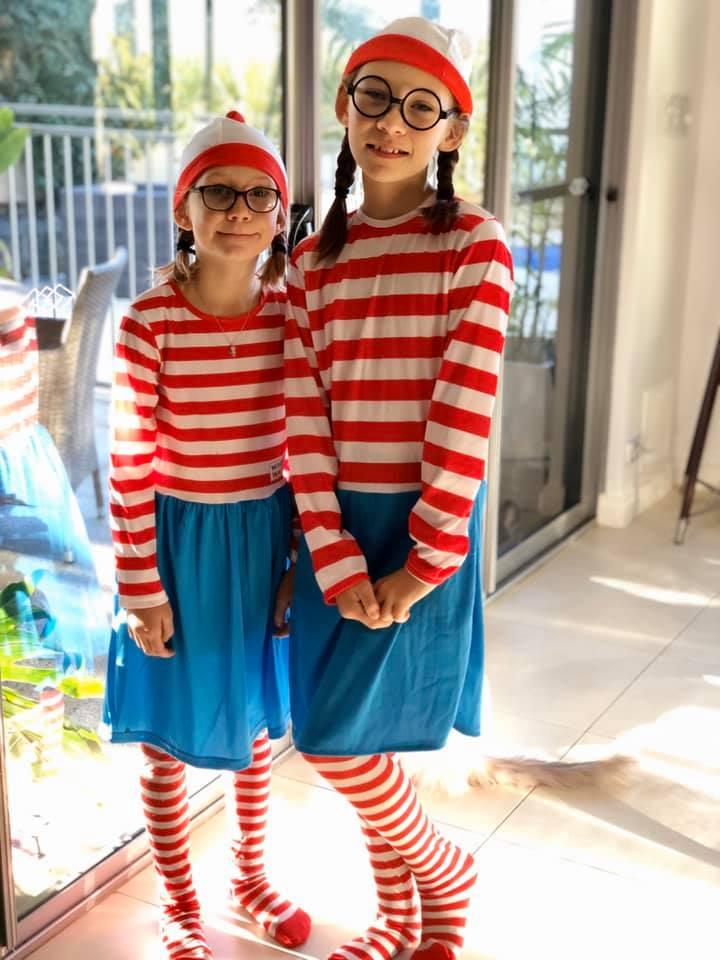 Where's Wally Book Week Costume