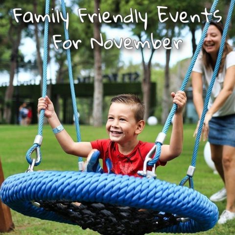 Family Friendly Events for November