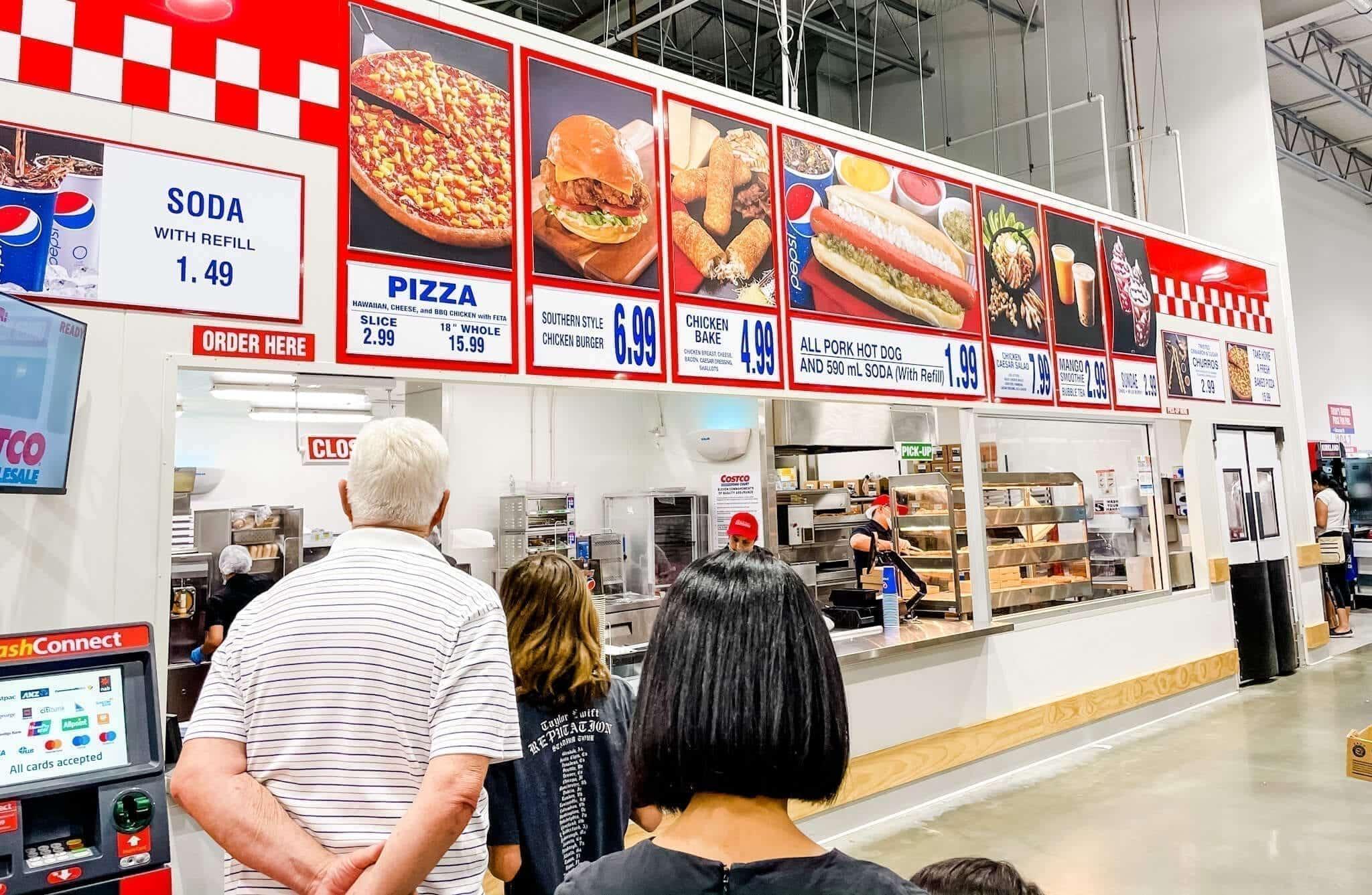 Costco Perth Food Court