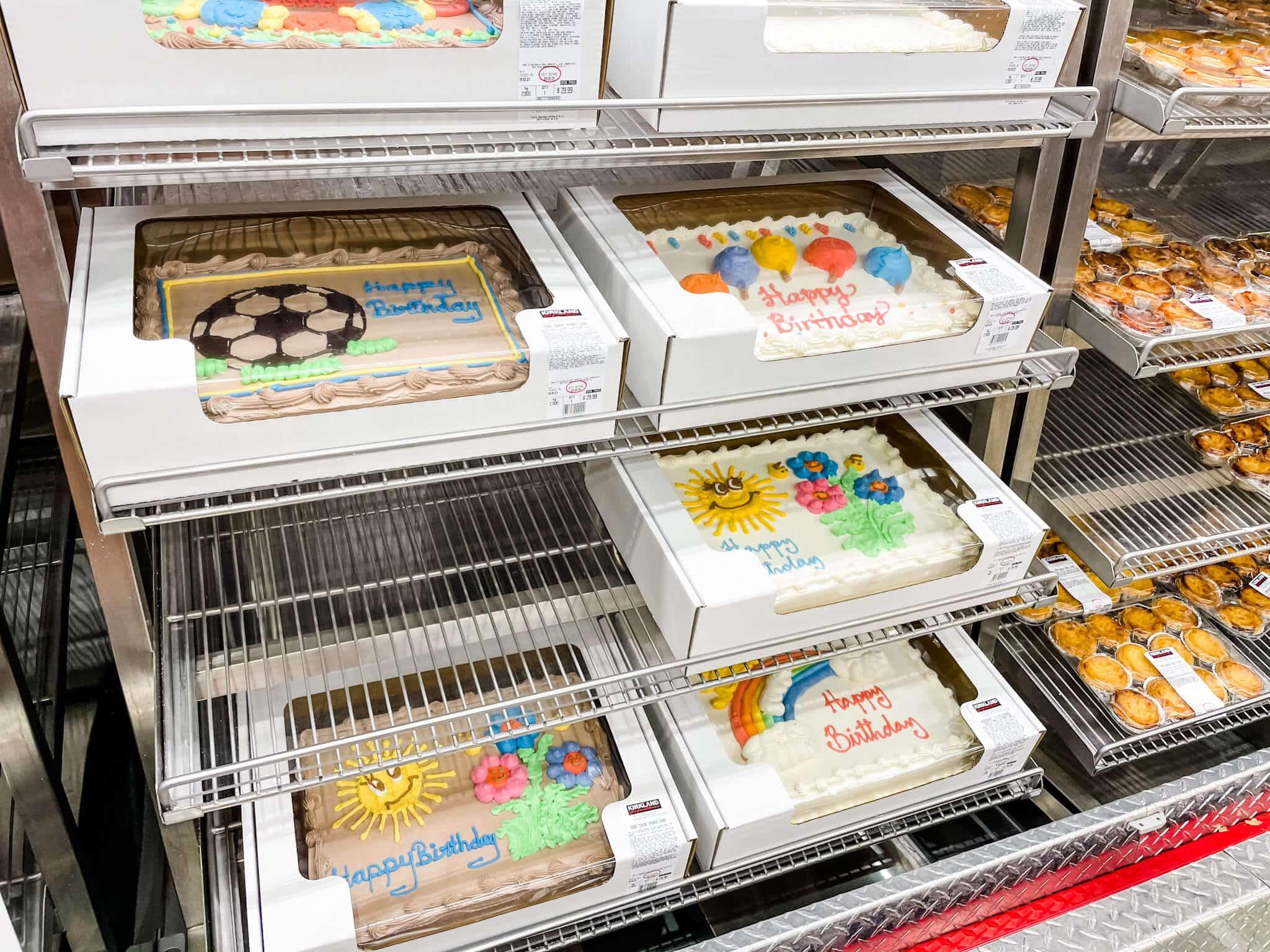 Costco Perth birthday cakes