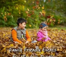 Family Friendly Events for March