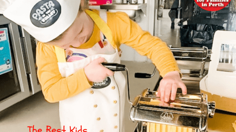 cooking class for kids in Perth